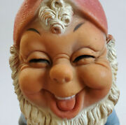 Rare Vtge Mayer Meir Israel Rubber Gnome 1950s Pat. Pending Toys Collectible