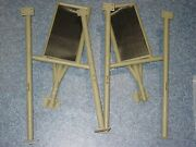 B-25 Mitchell Bomber North American Aviation Part Set Of Foot Rest