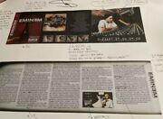 Eminem Show Slim Shady Hand Signed Litho Auto Exclusive From His Store Real