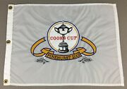 Pinehurst Coors Cup 2001 Golf Tournament Embroidered Pin Flag