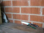 Vintage 3 3/4 Blade Wyoming Cutlery Fine Nice Carbon Paring Knife Usa