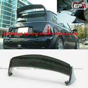 For Mini Cooper R50 R53 Aqr Style Forged Carbon Look Rear Roof Spoiler Wing Lip