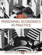 Personnel Economics In Practice By Michael Gibbs And Edward P. Lazear 2008,...