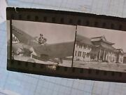 Original Wwii Flying Tigers Avg Ace Contact Photo Strip