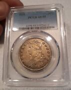 1831 50c Capped Bust Half Dollar Pcgs Certified Grand Appeal Razor Sharp