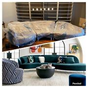 Crate And Barrel Sofa Bellevue Sectional New