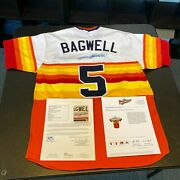 Jeff Bagwell 1999 Houston Astros Turn Back The Clock Signed Game Used Jersey Jsa