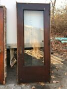 Hol1 Antique Full View Entrance Door36.5 X 86.5 In Frame