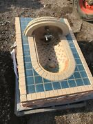 Rookwood 1 Antique Willys Knight Rookwood Faience Wall Fountain 43 I 29.75