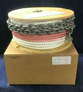 Good R/c 1/2 X 300and039 Depth Color-coded Anchor Line W/ 10and039 5/16 Bbb Galv. Chain