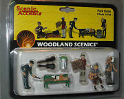 Woodland Scenics Figures O Scale A2749 Park Bums Train People Lionel Wds2749 New