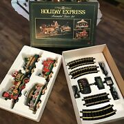 New Bright 1996 Holiday Express Animated Train Set 380 G Scale Complete Video