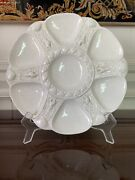 Minton Antique C1876 Majolica Oyster Plate, Figural Shell, White