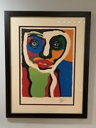 Karel Appel, Limited Edition Signed Lithograph Xi / L