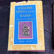 Vtg English China And It's Marks Ormsbee 1959 Pottery Porcelain Stoneware