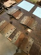 D 30set Of Four Matching Antique Very Decorative Brass Bronze Hinges 6 X 8andrdquo