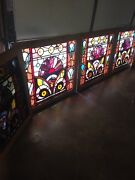 An 77 1available Price 4 Sold Antique Stainglass Windows Rondelland039s Jewels