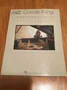 Carole King - Greatest Hits Transcribed Scores