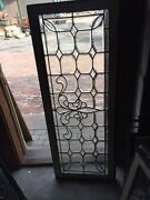 Sg 596 All Beveled Glass Transom Window 22 Inches High By 56 1/4 Long