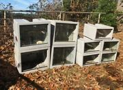 Vision Reptile Cages Models 222 And 211 Used 11 Total Buy All For 2k.