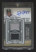 Frank Thomas Topps Sterling Autograph /25 Dual Game Jersey Oncard Auto Hof Mint