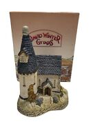 David Winter Cottages Hand-painted The Chapel 1984 In Original Box