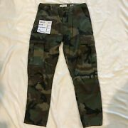 New Re/done Originals Leviand039s Denim Jeans Army Green Brand New Authentic Size 26
