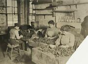 1908 Tobacco Tenement Shop New York City Photograph By Lewis Hine Child Labor