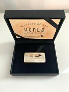 Singapore Airlines First Class Gift Of The Leaning Tower Of Pisa Silver Ingot