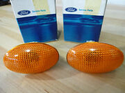 Ford Contour / Mondeo / Merkur Euro Side Marker Lights New Pair, Ford 6859847
