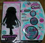 Lol Surprise Omg Snowlicious And Snow Angel Winter Disco Doll Sold Out Toy