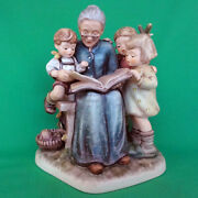 Hummel A Story From Grandma 7.25 Tall Some Minor Crazing Made In Germany