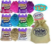 Kinetic Sand Modeling Sand 4.5oz. Containers Pink Green Purple White Beig...
