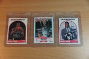 David Robinson Rookie Cards. Uncleand039s Collection. Brand New Find. 3 Cards.