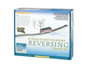 Bachmann 44847 N Scale Point To Point Reversing Track Set New In Box