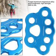 45kn 8‑hole Rigging Plate Multi Anchor Split Divide Connector Outdoor Climbing