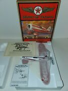 Wings Of Texaco 1930 Travel Air Model R Mystery Shipdiecast 5th In Series New