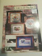 Crates And Sacks Volume 2 Country Cross Stitch Book 15 Fruit Produce Labels Vintag