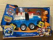 Paw Patrol, Dino Rescue Patroller Motorized Team Vehicle Exclusive Chase And T-rex