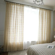 Vintage Curtain For Living Room Crochet Hollow Window Drapes Treatment Bedroom