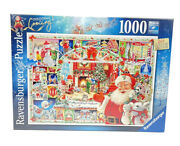Ravensburger Puzzle 1000pc Holiday Christmas Is Coming 2020 Limited Edition New