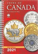 New 2021 Coins Of Canada Catalog Coins Tokens And Paper Money Spiral 39th Edition