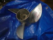 Mercury Mercruiser 15 Inch X 21 Pitch Cleaver Stainless Steel Prop