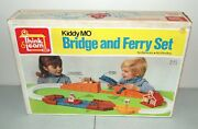 New Sealed Vtg Ideal Bridge And Ferry Set Think And Learn Playset Rare