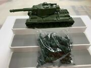 Ideal 81 Tank With 29 Ideal Soldiers Marx Battleground Like Rare Items