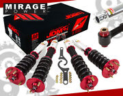 For Honda 98-02 Accord 99-03 Acura Tl Adj. Coilovers Lowering Spring Damper Red