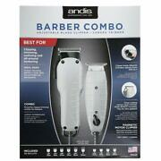 Andis Barber Combo 66325 + Scalpmaster Clipper Cleaning Brush Sc-ucb