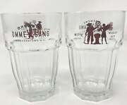 Ommegang Witte Wheat Ale Tumbler Glass Set Of Two