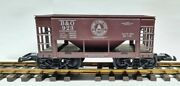 Roundhouse G Scale Ore Car - Smooth Side G4168 Baltimore And Ohio 923