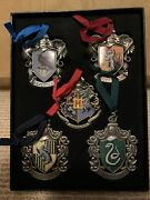 The Nobel Collection Harry Potter Christmas Tree Ornament Hogwarts Crest Houses